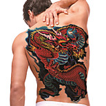 tatuaggio temporaneo (terzino) - Dragon (2 pezzi)