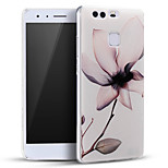 Embossed Beautiful Flower Soft Protective Back Cover Ultra Thin Huawei Case for Huawei Ascend P9