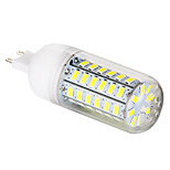 G9 12 W 56 SMD 5730 1200 LM Natural White T LED Corn Lights AC 220-240 V