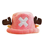 One Piece Pink,Blue Corduroy Cosplay Hat