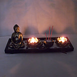 Valentine'S Day Creative Romantic Wedding Arts Crafts Gift Europe Type The Buddha Scented Candle