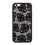 New Black Edge Silk Pattern Sexy Lace Cell Phone Shell for iPhone 6 Plus/iPhone 6S Plus(Assorted Colors)