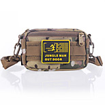 Camouflage Multifunctional Nylon Bum Bag for Hunting/Fishing/Camping Hiking(Random Colors)