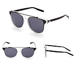100% UV400 Wayfarer Fashion Transparent Mirrored sunglasses