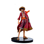 One Piece Hand Animation Cloak Luffy Anime Action Figure Model Toy
