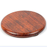 UGpine Wooden QI Mobile Phone Wireless Charger For Mobile Phone With Wireless Charging