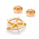Homemade Bread Rolls Mold for Bread Kaiser Line Mould Kitchen Pastry Baking Tools Kaiser Roll Maker
