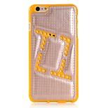 speziell auf der rückseitigen Abdeckung für iphone 6 / 6S (Farbe sortiert)