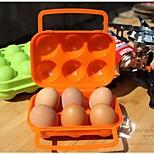 Packing OrganizerForTravel Storage Plastic Green / Orange 15*16*7