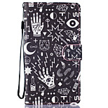 Confusion Pattern PU Leather Full Body Case with Stand for LG LS770