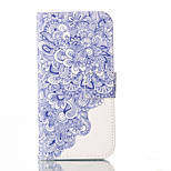 Flower PU Leather Wallet with Card Holder and Stand for Iphone 5 5s 5se 6 6S 6 Plus 6S Plus