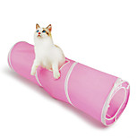 Funny Cat Toy Good Cat Tunnel 1Pc Blue/Pink
