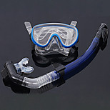 Drying Silicone Diving Snorkeling Package for Diving/Swimming(Random Colors)