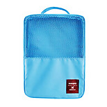Travel Packing Organizer / Inflated Mat Waterproof Travel Storage Fabric Blue / Green / Red