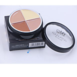 4 Concealer Wet CreamCoverage / Whitening / Long Lasting / Concealer / Uneven Skin Tone / Natural 1Pc