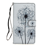 Dandelion Pattern PU Leather Full Body Case with Stand for Wiko Fever