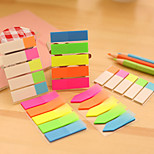 1PC Color Box Stickers Transparent Sticky Board N Index Indicate Indication Label Stickers