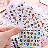 5PCS Nail Art the Water Transfer Nail Stickers Nail Harajuku from Japan and South Korea JTA (5 Models Random)
