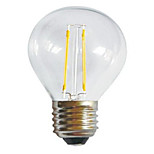 HRY® G45 2W E27 250LM 360 Degree Warm/Cool White Color Edison Filament Light LED Filament Lamp (AC85-265V)