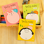 1PC Cartoon Big Sticky Notes N Post Office Learning Note Book