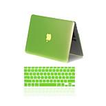 2 in 1 mattem Metall Farbe Ganzkörper-Kastenabdeckung mit Tastaturabdeckung für MacBook Air 11