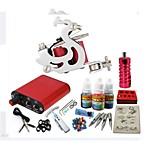 máquina jh551 kit de tatuagem basekey com tinta apertos de alimentação 10ml