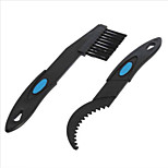 2 Pcs/Set Bicycle Chain Cleaner Cycling Cleaning Brushes Bike Quick Washing tool Kits+Clean Brush