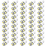 Camry Corolla Elantra 12V 2.5W 50505SMD LED Car Reading Lamp, Car Width Lamp, Car LED License Lamp 50PCS per Bag