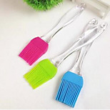 3 PCS Silicone Oil Brush Yolk Cream Silicone Brush Random Color