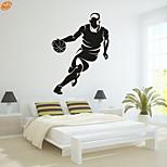 AYA™ DIY Wall Stickers Wall Decals, Basketball PVC Wall Stickers
