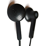 Iriver IDP-550 Earphones Dynamic Sound Headphone 3.5mm In Ear Stereo Music for iPhone 6/iPhone 6 Plus (Black And White)
