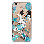 Chinese Landscape Painting Painted Pattern Hard Plastic Back Cove For iPhone6/6S 4.7