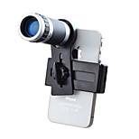 JACKLEO Lensnano Mobile Phone Camera Lens 8X Telescope Zoom Telephoto for iPhone Samsung etc