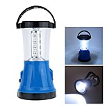 Solar Rechargeable 17 LEDs Portable Bivouac Camping Hiking Tent Lantern Light Lamp
