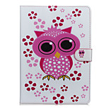 Owl Patter PU Leather Full Body Case with Stand for iPad Air3