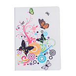 Double Butterfly Play Around Flowers Open Holster for ipad air3/ ipad 7