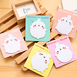 1PC Creative Cute Potato Rabbit Post-It N Stick A Post-It Note A Sticky Note Book