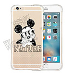 Atmosphere Of Fairy Tale Soft Transparent Silicone Back Case for iPhone 6 Plus/6S Plus(Assorted Colors)