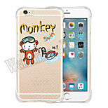 Atmosphere Of Fairy Tale Soft Transparent Silicone Back Case for iPhone 6/6S (Assorted Colors)