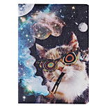 Special Design Novelty PU Leather Folio Case Holster for iPad 5