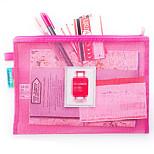 Portable Plastic Travel Storage/Passport Holder & ID Holder  13*10*1