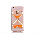 Love Luminous Hourglass TPU Back Case For Iphone 6Plus/6S Plus(Assorted Color)