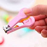 New Lovely Cartoon Nail Clippers Candy Color Nail Tool Random Delivery