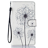 Dandelion Pattern PU Leather Full Body Case with Stand for LG LS770