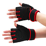 Nylon Semi Finger Gloves for Bodybuilding