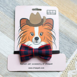 TG-HP046 Bowtie grid Design for Dogs and Cats (Assort Colors)