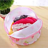 Washing Bra Bag Laundry Underwear Lingerie Saver Mesh Wash Basket Aid Net New Random Color