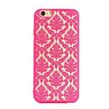Retro Auspicious Pattern Openwork Relief Printing PC Material Phone Case for iPhone 6 /iPhone 6S