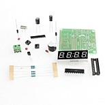 C51 4 Bits Electronic Clock Electronic Production Suite DIY Kits C51 Electronic Clock