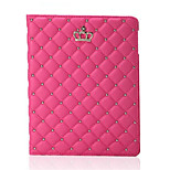 Newest Fashion Crown PU Leather Tablet Case Stand Cover For iPad Mini 3/2/1 (Assorted Colors)